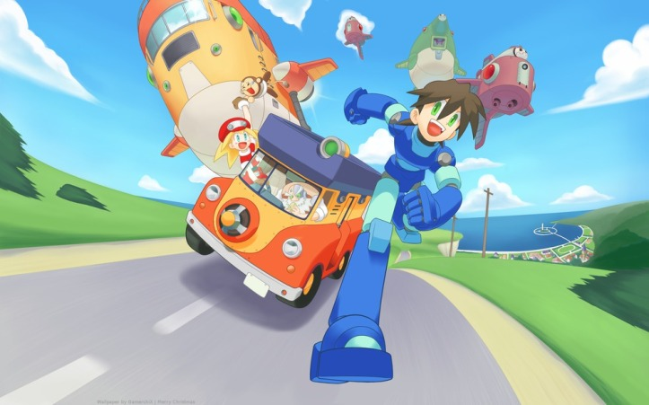 Image result for Megaman Legends